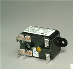 White Rodgers 90-360 Fan Relay, Type 184, 24 VAC Coil, 50/60 Hz, SPNO. Coil Data: 77 Ohms DC Resistance, 125 mA (Nominal)