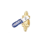 "Yellow Jacket 93834 Ball Valve 1/4"" Sae Male Fl. X Male Fl."