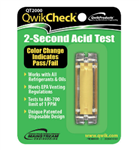 Qwik QT2000 5-Second Acid Test Kit