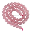 Natural Rose Quartz Gemstone Beads