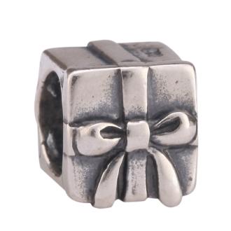 d204a273fef7 1pc x Sterling Silver Special Gift Box Charm Bead Fits Pandora Biagi Troll  Chamilla European Charm #EC225