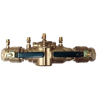 "Watts 1 1/4"" 007 1 1/4"" Backflow Prevention Device"