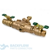 "Watts Backflow Prevention 3/4"" 009 RPZ Lead Free Device"