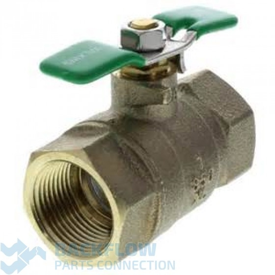 "1"" #2 outlet ball valve Female x Female ""Lead Free"""