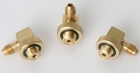 "Backflow Prevention Parts - 1/4"" Angled Quick Test Fitting (Set Of 3)"
