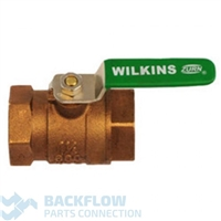 "1 1/4 #2 Outlet ball valve ""Lead Free"" Female x Female"