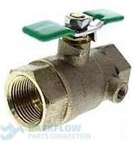 Wilkins Backflow 1/2 #1 inlet Ball Valve Tapped Female x Female