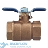 "Backflow Prevention Parts - 1/2"" #2 Outlet Ball Valve LEAD FREE"