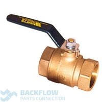 "Watts Backflow Prevention Outlet Ball Valve 1 1/4"" 007/009"