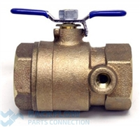 "Watts Backflow Preventer 1/2"" 007, LF007 Lead Free Inlet Ball Valve"