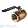 "Watts Backflow Prevention Inlet Ball Valve 1 1/2"" 007/009"