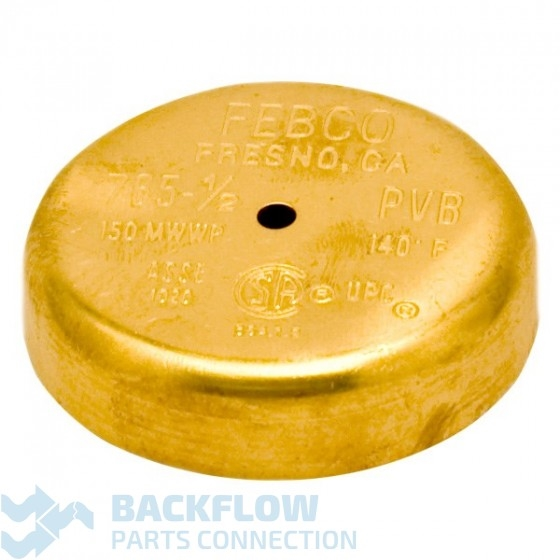 "Febco Backflow Prevention Brass Canopy - 1/2"" 765"