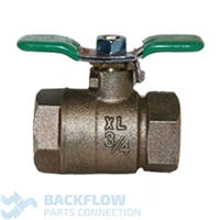 "Wilkins Backflow Prevention 3/4"" outlet ball valve"