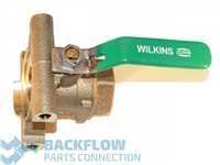 "Wilkins Backflow Parts - 3/4"" #2 Ball Valve LEAD FREE Female x Device"
