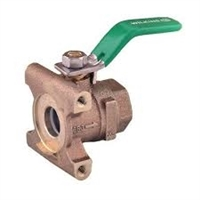 "1""  #2 Outlet Ball valve Female x Device ""Lead Free"""