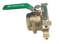 "Lead free 1 1/4"" Outlet ballvalve"