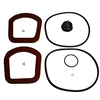 "Backflow Preventer Total Rubber Parts Kit - Ames/Colt 10"" C400/C500"