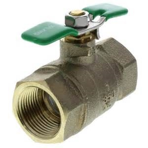 "Backflow Prevention Parts - #2 Shut-Off Valve - Febco 1/2"" Lead Free"