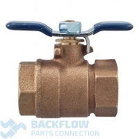 "Febco Backflow Prevention 3/4"" outlet ball valve"
