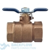 "Febco Backflow Prevention 1"" outlet ball valve"