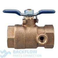 "Febco Backflow Prevention 3/4"" Inlet Ball Valve"