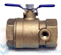 "Febco Backflow Prevention #1 shut-off tapped for 1 1/4"" Lead Free"