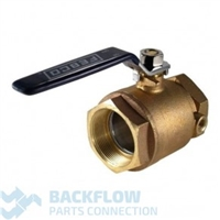 "Febco Backflow Prevention 2"" tapped ballvalve Lead Free"