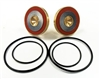 "Rubber Parts for Both Checks - Watts Backflow 1 1/4-2"" RK 909M1 RC3 HW"