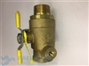 1 1/2' #1 ball valve(tapped) male x female (40-100/40-200 top entry)