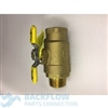 1 1/2' #2 ball valve(non-tapped) male x female (40-100/40-200 top entry)