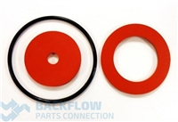 "Watts Backflow Prevention Rubber Parts Kit - 1/2-1"" RK800 RT"
