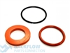 "Watts Backflow Prevention Rubber Parts Kit - 1/2-3/4"" RK800M3 RT"