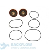 "Watts Backflow Prevention Complete Rubber Parts - 1 1/2-2"" RK007 RT"