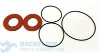 "Watts Backflow Prevention Complete Rubber Parts - 2 1/2-3"" RK 007 RT"
