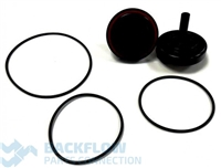 "Watts Backflow Prevention Complete Rubber Parts - 2"" RK 007DCDA RT"