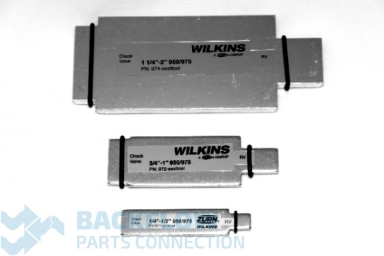 "Wilkins 1/4-2"" 950XLT & 975XL Check & Relief Valve Seat Tool Kit"