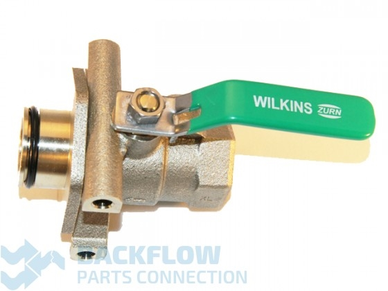 "Wilkins Backflow #1 Ball Valve 1"" 375 LEAD FREE Device x Female"