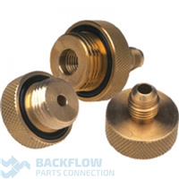 "Conbraco & Apollo Backflow Set of 3 - 1/4"" x 1/4"" Quick Test Fittings"