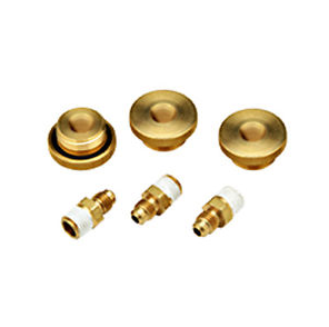 "3/4"" BRASS QUICK TEST FITTINGS (SET OF 3)"
