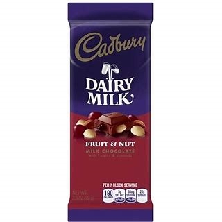 Cadbury Fruit & Nut