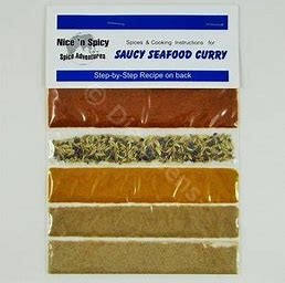 Nice & Spicy Seafood Curry Spice