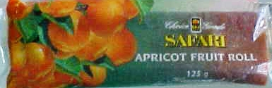 Apricot Fruit Roll