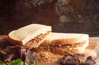 Bledie Lekker fine grated beef biltong for sandwiches, cheese spreads and omelettes