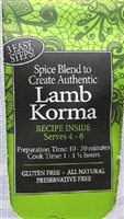 Spice Kitchen Lamb Korma Curry Spice