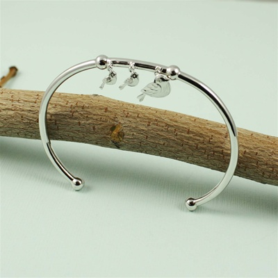 Birds on a Branch Bangle