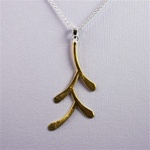 Gold Prosperity Symbols Necklace