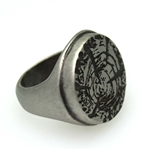 Silver Forest Ring