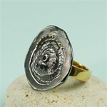Handcrafted Sand Dollar Ring