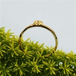 Gold Heart Stackable Ring