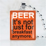 Beer Scrabble Game Tile Necklace